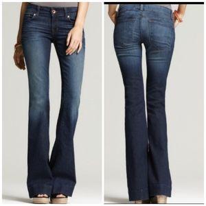 J. BRAND Love Story HERITAGE Blue Flare Jeans 28